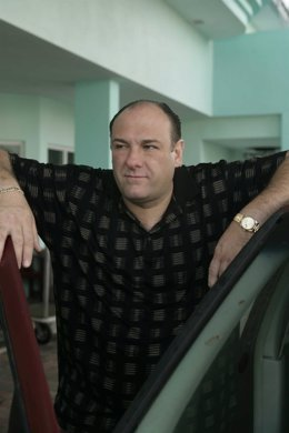 James Gandolfini es Tony Soprano
