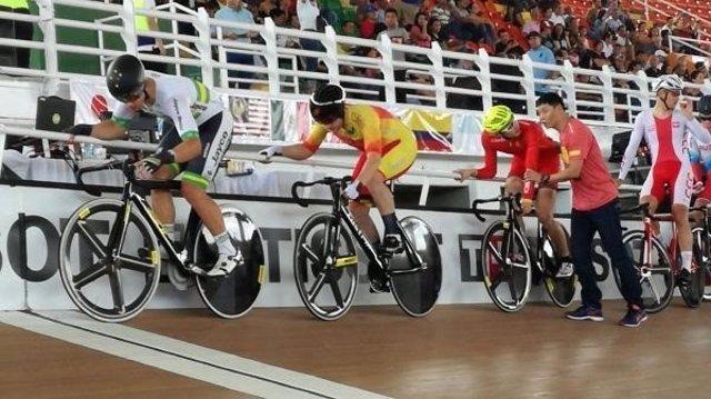 Illart Zuazubiskar Copa Mundo Cali ciclismo omnium