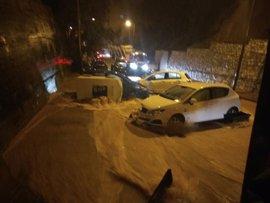 Ascienden a 203 las incidencias gestionadas por el 112 a causa de las lluvias en Málaga