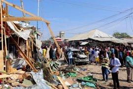 Aumentan a 39 los muertos por la explosión de un camión bomba en un mercado de Mogadiscio