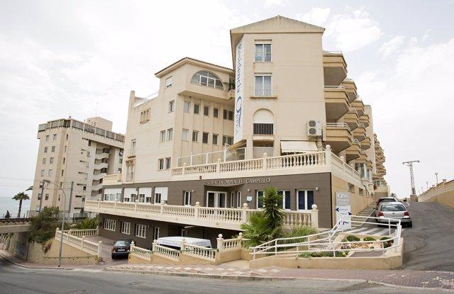 Residencia donde se ha producido el asesinato