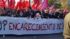 CCOO y UGT Madrid cargan contra las políticas de Rajoy por incrementar las desigualdades y la pobreza energética