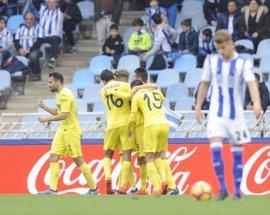 Castillejo da aire en el descuento al Villarreal ante la Real Sociedad