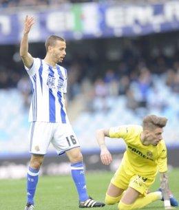 Samu Castillejo Sergio Canales Real Sociedad Villarreal