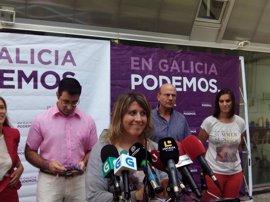 """Carmen Santos (Podemos Galicia): """"No entra en nuestros planes ni es nuestro deseo que el grupo de En Marea rompa"""""""