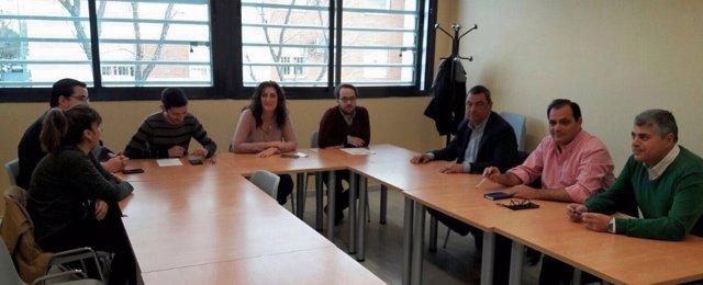Reunión PP con 'Torreblanca Unida'