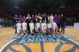 El Real Madrid conquista su quinta Minicopa consecutiva tras batir al Unicaja