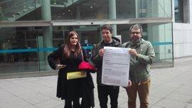 Segundo González (Podemos) acude este lunes a la audiencia previa del juicio por la demanda presentada por Cascos