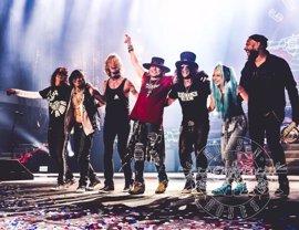La lista para el sorteo de las entradas de Diputación para Guns n' Roses se abre este martes