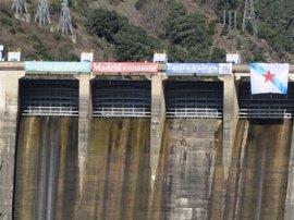 """El BNG reclama en Os Peares (Ourense) la recuperación de la """"gestión pública de los saltos hidroeléctricos"""""""