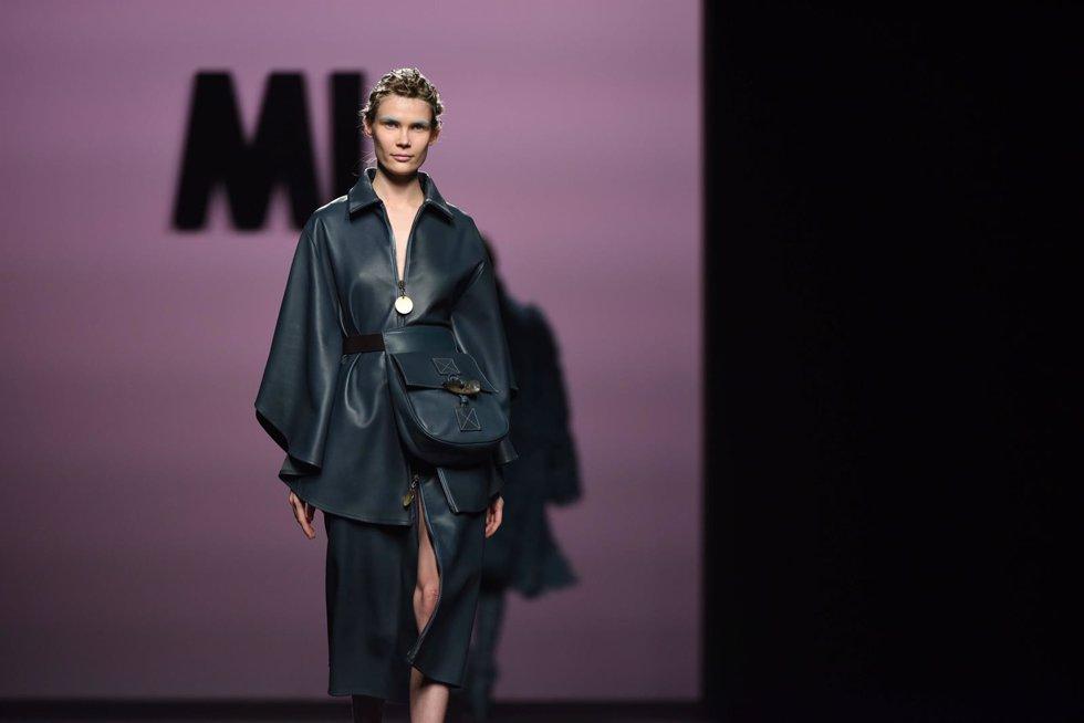 Desfile de Marcos Luengo en la Mercedes Benz Fashion Week Madrid 2017.  588/Di
