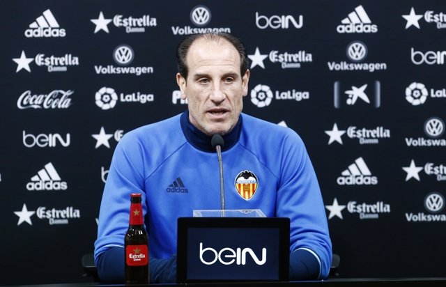 El entrenador del Valencia CF, Salvador González 'Voro'