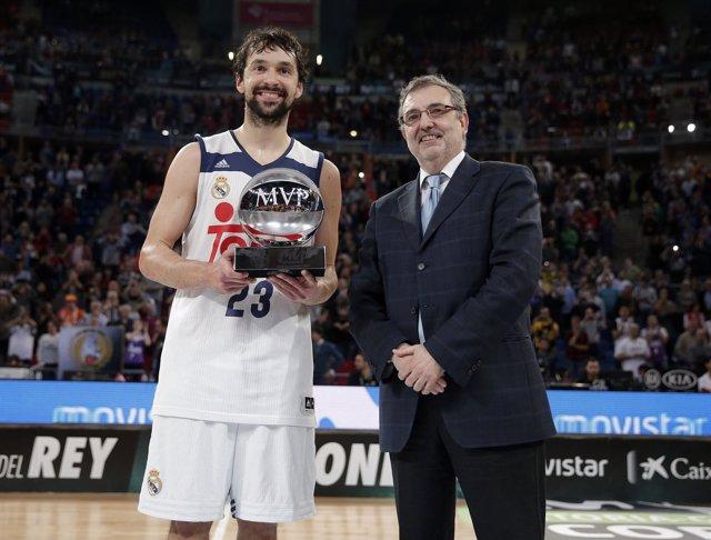 Sergio Llull, MVP de la Copa 2017