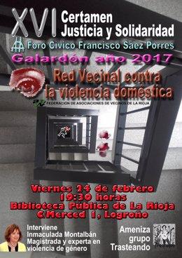 El foro Sáez Porres galardona a la Red Vecinal contra la Violencia de Género