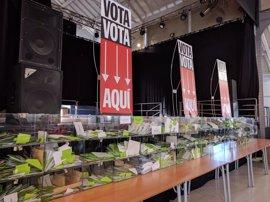 Arranca el escrutinio de los votos emitidos para la 'gran consulta ciudadana' impulsada por el Ayuntamiento