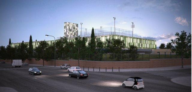 Centro deportivo Vallehermoso