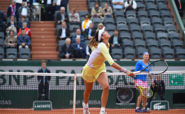 Muguruza Garbiñe final Roland Garros