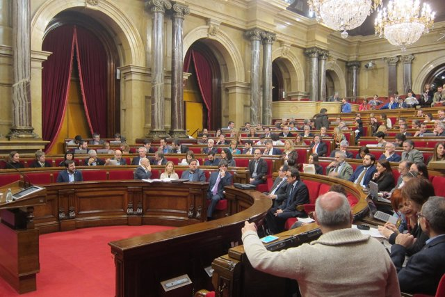 Pleno del Parlament