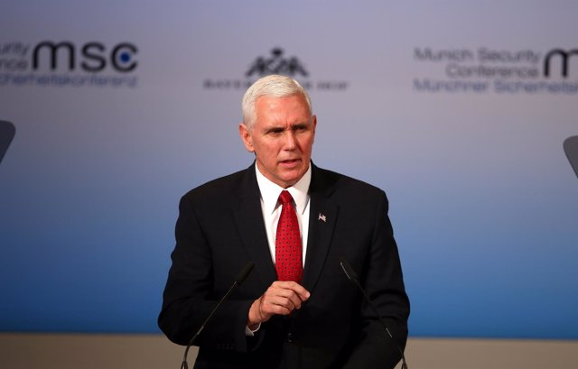 Vicepresidente de EEUU Mike Pence en Munich