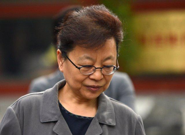 La ex vicesecretaria del PCCh Lu Xiwen.
