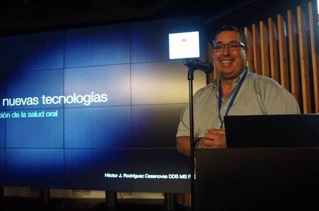 El doctor Héctor J. Rodríguez Casanovas, odontólogo y miembro de SEPA