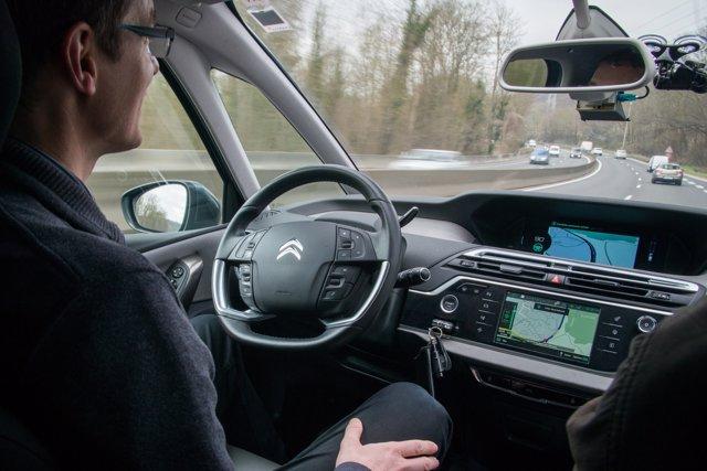 Vehículo autónomo de Grupo PSA