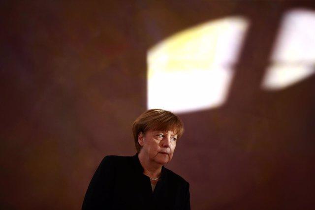 La canciller de Alemania, Angela Merkel