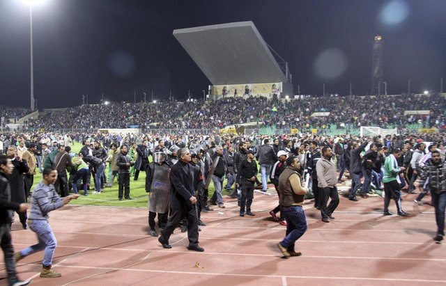Matanza En El Estadio De Port Said. Egipto