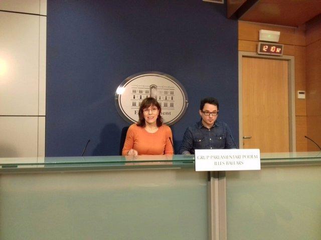 Laura Camargo en rueda de prensa