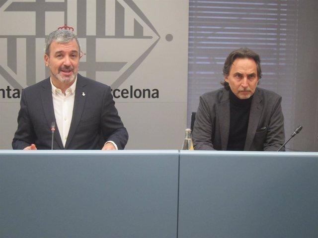 Jaume Collboni y Màrius Rubert