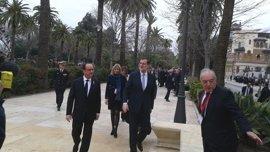 Arranca la cumbre hispano francesa en Málaga con Rajoy y Hollande determinados a impulsar el proyecto europeo