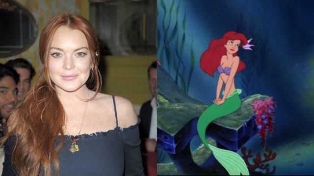 Lindsay Lohan quiere dar vida a La Sirenita