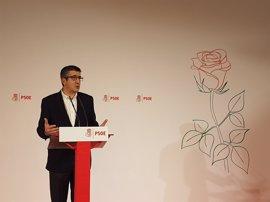 """Patxi López dice que """"nunca"""" se debió llegar al momento en el que se encuentra el desafío independentista"""