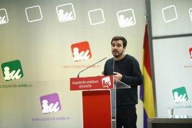 """IU """"respeta"""" los """"cambios internos"""" de Podemos"""