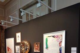 Christie's expone en Madrid, con motivo de ARCO, obras de Barceló, Dumas o Katz, que subastará en Londres
