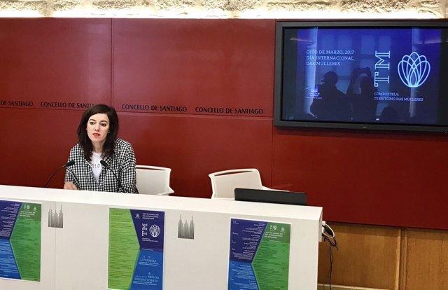 Marta Lois presenta las actividades con motivo del Día de la Mujer
