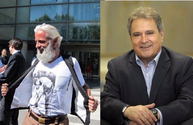Marcos Benavent y Alfonso Rus en imágenes de archivo
