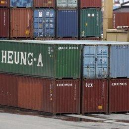 Contenedores exportación
