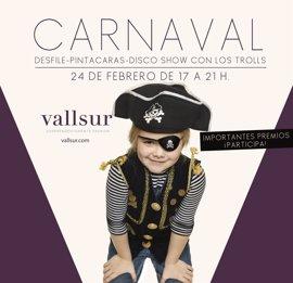 Vallsur celebra este viernes el carnaval con un concurso de disfraces amenizado por Trolls