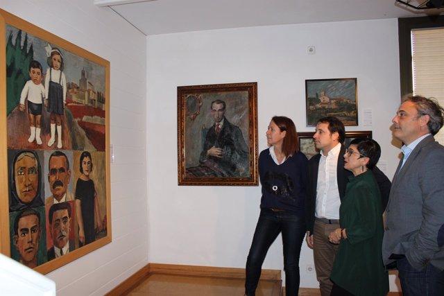 Donación de cuadro de la familia de Enric Marquès