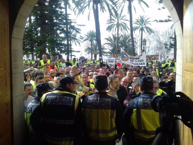 Manifestación taxis