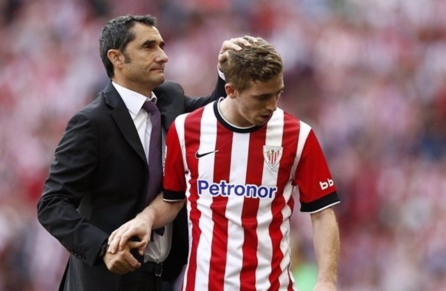 Iker Muniain Ernesto Valverde Athletic