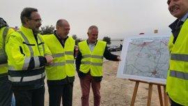 La obra de mejora de la A-8125 entre Morón y Arahal (Sevilla) estará acabada en septiembre tras invertir 3,95 millones