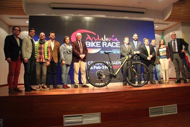 Presentación de la Andalucía Bike Race 2017.