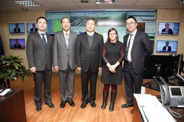 Delegación de China viaja a España a conocer el sistema de extinción de incendio