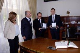"""El alcalde destaca la """"visibilidad"""" en Francia y el """"prestigio"""" que da a Málaga la cumbre hispano francesa"""