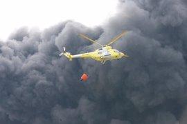 CLM culmina la limpieza del incendio de Seseña, valorada en 6 millones
