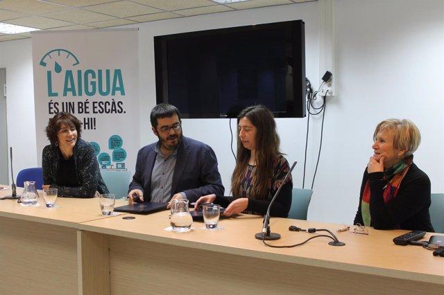 Firma de un protocolo de inversiones entre Emaya y el Govern