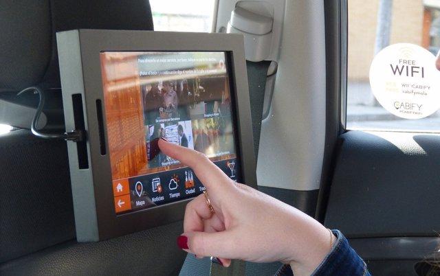 Cabify y Samsung