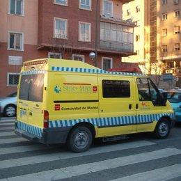 ambulancia madrid servicio madrileño salud sermas dia
